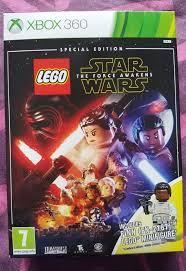 lego star wars the force awakens xbox 360 special edition inc finn figure ebay