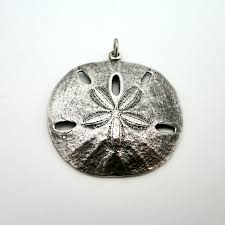 james avery sterling silver large sand dollar pendant