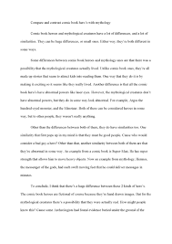 compare contrast essay examples college sample compare and  compare and contrast essay examples for college students compare examples of college compare and contrast essays