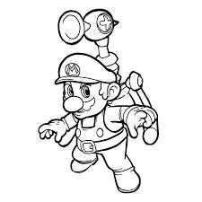 Bekijk Super Mario Bros 0015 Kleurplaat