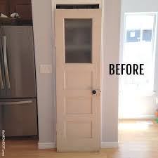 etched glass front doors into the glass diy frosted glass pantry door to save on