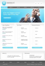 Business Website Templates Free Business Website Template 24 3