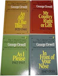 orwell essays co george orwell the collected essays journalism and letters of