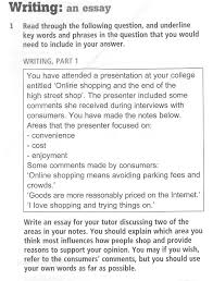 cae writing part a formal essay tim s english lesson plans essay shopping