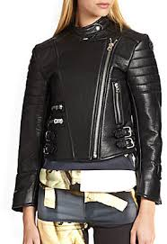 Acne Studios Moi Quilted Panel Leather Biker Jacket | Where to buy ... & ... Acne Studios Moi Quilted Panel Leather Biker Jacket Adamdwight.com