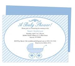 Invite Templates For Word New Baby Shower Invite Template Word Diabetesmang