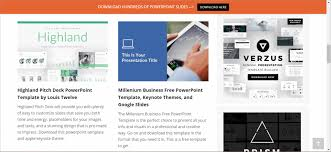 Ppt Business Template The Webs Best Free Business Powerpoint Templates Present Better