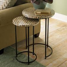 best 25 nesting coffee table ideas on with contemporary nesting tables gl round