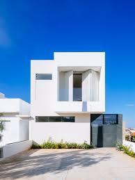 fachada de casa de dos sencilla