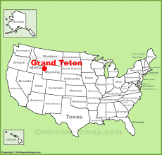 「the grand teton map」の画像検索結果