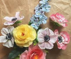 Design Sponge Paper Flowers Get Crafty With 100 Simple Paper Flowers