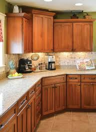 Oak Cabinet Kitchen Stockphotos Kitchens With Oak Cabinets