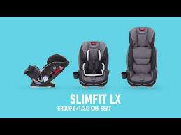 graco slimfit lx group 0 1 2 3 car