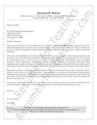 Preschool Teacher Cover Letter   My Document Blog