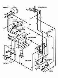 ez go marathon wiring diagram wiring diagrams second