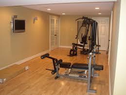 Stylish Basement Gym Flooring Ideas Workout Room