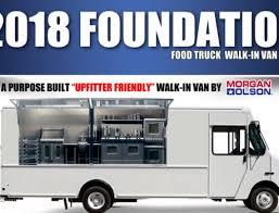2015 food truck industry statistics show worth of 1 2b morgan olson unveils foundation food truck at 2017 work truck show