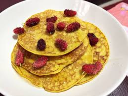 Pumpkin Pancake แพนเค้กฟักทอง แบบคลีน - Nile and Sister
