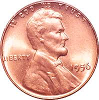 1956 Wheat Penny Value Cointrackers