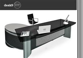 stylish office desks. Modern And Stylish Complete Office Desk Set With 5 Animation Typing,Writing,Crosslegs. Desks