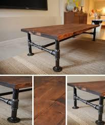 making industrial furniture. diy industrial coffee table httphomesteadandsurvivalcom making furniture