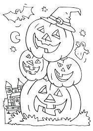 Printable Halloween Coloring Pages For Kids Freericardopalmeraorg