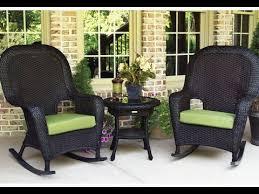 Outdoor Wicker Rocking Chairs~Outdoor Black Wicker Rocking Chairs ...