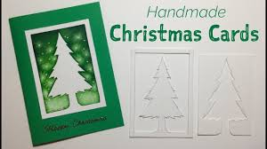 How To Make A Simple Christmas Card Tutorial Tree Design And Template