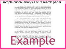 article critical review book examples