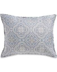 standard pillow shams. Real Simple Anya Standard Pillow Sham In Dusty Blue Shams Better Homes And Gardens