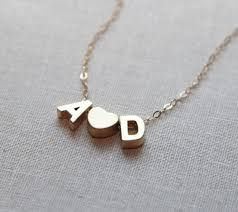719af0b2ba bbc227f2dd2535ed3 gold initial necklaces letter necklace