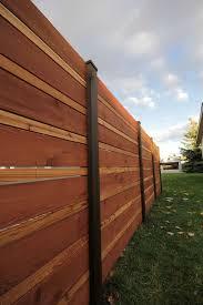 Horizontal Fence Styles Outdoor Waco Great Modern Horizontal