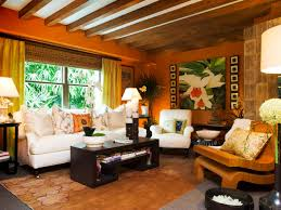 Orange Rug Living Room Living Room Dazzling Orange Living Room Ideas With Relaxing