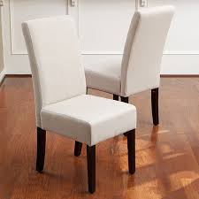parsons dining chairs upholstered. Set Of 4 Elegant Design Natural Linen Upholstered Parsons Dining Chairs