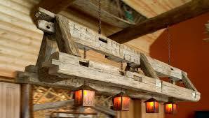cabin lighting ideas. Diy Wood Beam Light Fixture Master Makeover Chandelier Transformation Log Cabin Lighting Ideas Lodge Chandeliers Rustic