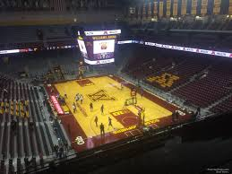 Williams Arena Minnesota Section 202 Rateyourseats Com