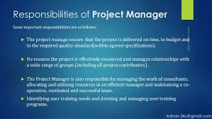 Project Manager Duties Duties Of Project Manager 3375638953 Project Manager
