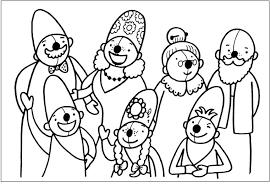 Kleurplaat Pompom Familie Kleurplaten Pompom I Love School