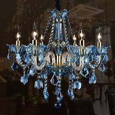 image of stylish foyer crystal chandeliers
