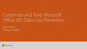 Brown Microsoft Office Customize And Tune Microsoft Office 365 Data Loss Prevention
