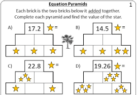solving 1 step linear equations