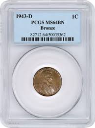 Pcgs Certified 1943 D Bronze Cent Sold For 1 7 Million