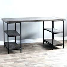office desk metal. Metal Office Desk And Wood Reclaimed Free Shipping Today .