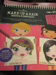 Fashion Angels Makeup And Hair Design Sketch Portfolio Fashion Angels Make Up Hair Design Sketch Portfolio