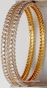 New Latest Gold Bangles Design Three Row Designer Gold Diamond Bangle For Best Price Buy Latest Design Diamond Bangles Real Diamond Bangles Designs New Design Gold Bangles Product