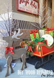 Free Wooden Christmas Yard Decorations Patterns Amazing Design Ideas