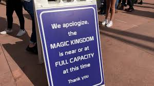 guests being turned away from magic kingdom offered 50 gift cards as park reaches capacity