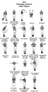 High School Football Referee Signals Chart April 2011 Ethics For Adversaries