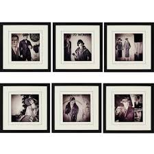 vintage fashion framed wall art will always be in vogue will always remain relevant and will on 6 piece wall art set with wall art sample ideas framed wall art cheap framed pictures framed