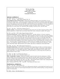 LVN Resume Revi 40 Enchanting Lvn Resume